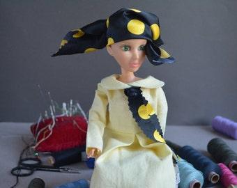 Barbie clothes - BJD YOSD clothes - Dress for doll - Handmade.