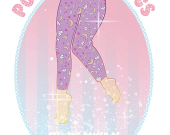 Made To Order Sailormoon Leggings