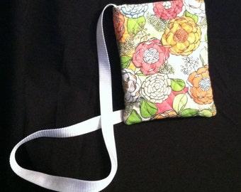 Crossover Handbag-Quilted Floral