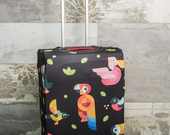 Luggage Cover / Protects, keeps clean / Jungle