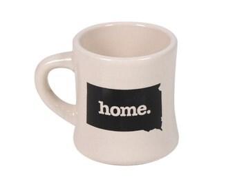 South Dakota home. Ceramic Coffee Mug, SD