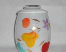 "Bartlett Collins ""Snow Orchard"" 1958-1959 UTILITY / Cookie Jar 2 Quart"