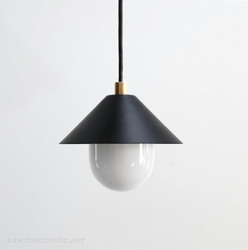 modern pendant light mid century pendant light minimal. Black Bedroom Furniture Sets. Home Design Ideas