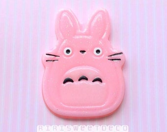 Pink Totoro Cabochon - 1 pcs