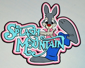 Splash mountain | Etsy