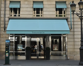 Tiffany & Co. in Paris, France.  5x7 Photograph!  Bon Jour!