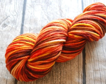 15% off - 10 Points to Gryffindor - Hand Dyed Yarn - Bulky Weight Yarn