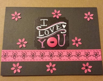 Beautiful homemade card