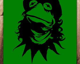 Viva La Frog! 8x10 inch Che Street Art Print