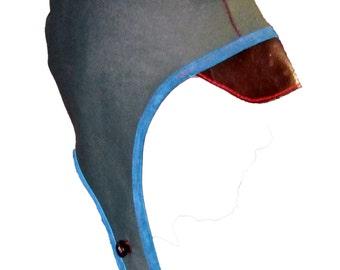 Leather Aviator Hat