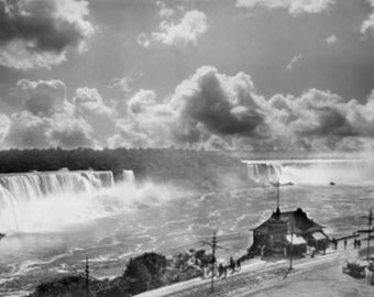 Niagara Falls from Clifton House Photograph (Art Prints available in multiple sizes)