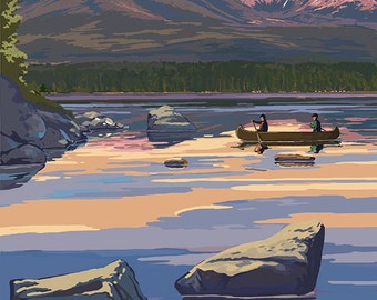 Mount Katahdin, Maine (Art Prints available in multiple sizes)
