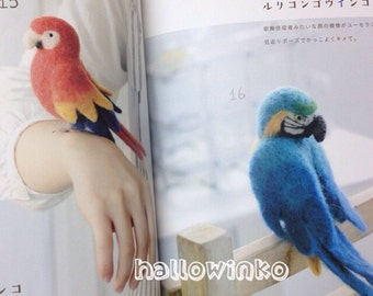 Items similar to Hamanaka JAPANESE First animal made in WOOL ...