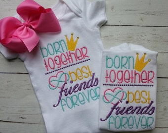 Born together Twin Shirt Set