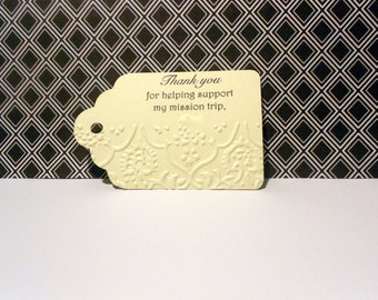 Doublesided Printed Tags - Set of 18
