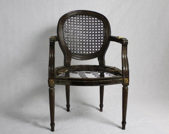 You Decide-French Cane Louis Chair