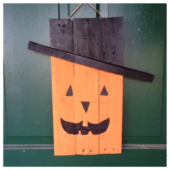Items similar to Rustic halloween decor, pallet decor ...