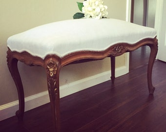 Vintage Louis XV bench