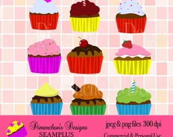 Cupcakes (Clipart)