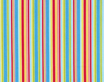RJR Fabrics Lovebirds 2030 05 Stripe Multi Yardage by Patrick Lose