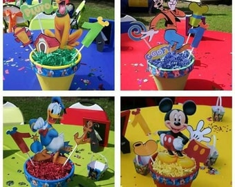 Toppers Only - Mickey Mouse Clubhouse Centerpiece