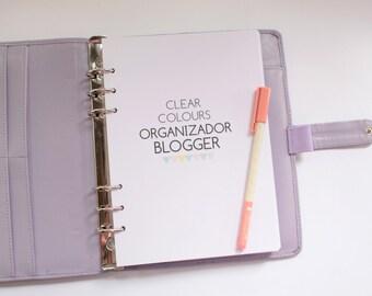 Organizador Blogger  Clear Colours