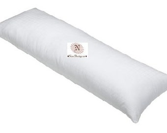 """54""""x20"""" Body Pillow Insert / Body Pillow Form / Body Pillow Stuffer filled with Hypoallergenic Outdoor Safe Polyester fiberfill"""