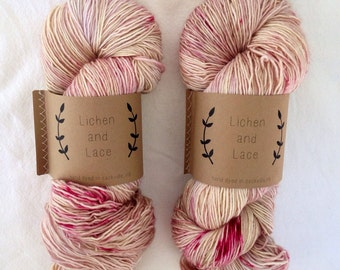 Orchid  ~ Lichen and Lace Hand Dyed Yarn