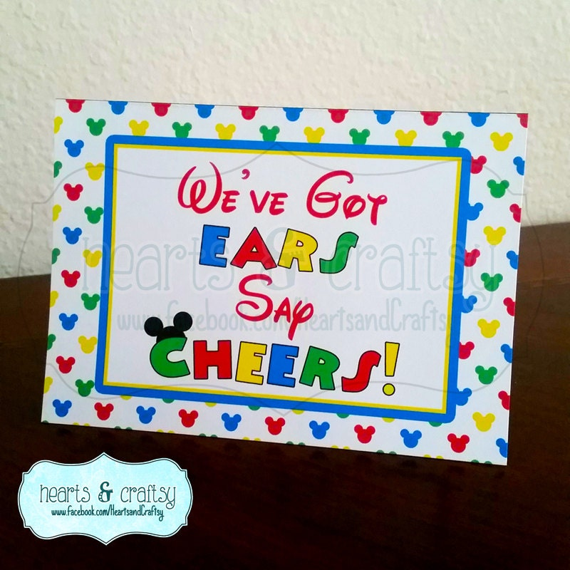 Mickey Mouse Clubhouse Birthday Party Sign We Ve Got