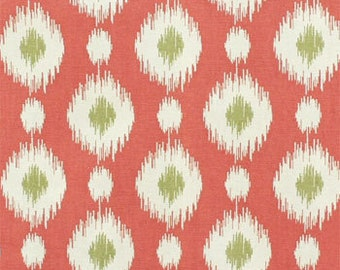 Drapery Fabric, Upholstery Fabric, Ikat Fabric, Southwestern, Dots, Fabric By The Yard, Slip Cover Fabric, Duvet Cover Fabric, Pillow Fabric