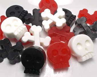 Pirate Party Favors - Pirate Favors, Pirate Party, Pirate Birthday Party Favors, Skull & Crossbones, Party Favor, Pirate Soap - Set of 10