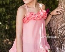 Chiffon Pink Tunic for girls