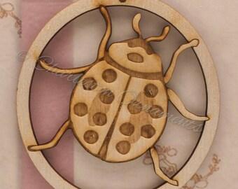 Ladybug Ornament - Ladybug Ornaments - Ladybug Gifts - Ladybug Gift - Insect Ornaments - Incect Decor - Bug Decor - Personalized Free