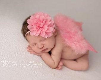 how to make newborn angel wings