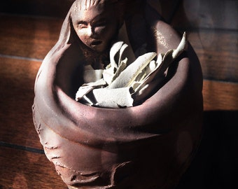 Wise Mother Offering Bowl - Witchcraft ~ Talisman ~ Amulet ~ Pagan ~ Paganism ~ Pagans ~ 253090