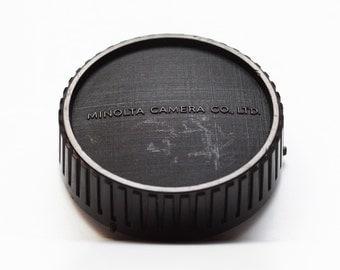 Original Minolta Rear Lens Cap Cover / MD Mount / For Manual Focus Vintage Lenses