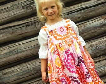 Dahlia / Chevron Summer Knot Dress