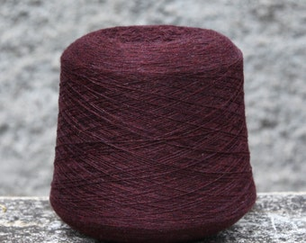 100% cashmere yarn, one cone of 130g