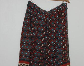 Vintage Navajo Pattern Skirt