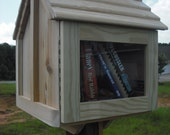 House on a stick UNFINISHED with post mount FULLY assembled CEDAR/pine best quality at the lowest price