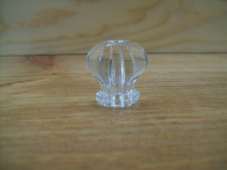 Vintage Glass Knob Furniture Knob Handles Drawer Pulls Haute Juice
