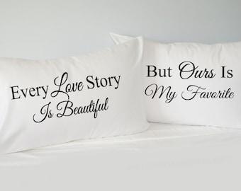 view his pillowcase set by rkgraceprints on etsy