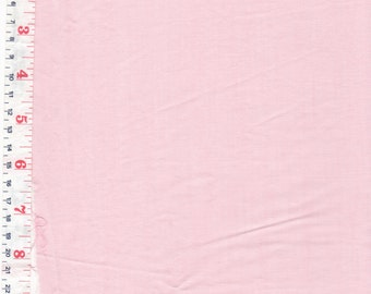 Pink Cotton Broadcloth, Cotton Blend Fabric  - by the Piece Length Available: 1 1/4 yards
