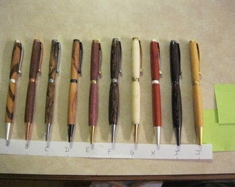 Exotic Wood Pens                                                                                                                 Pen Pen Pen