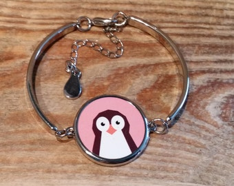 Penguin Bracelet - can be fully personalised