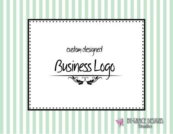 Custom Logo Design for your Business, Organization or Etsy Shop Professional Design Branding