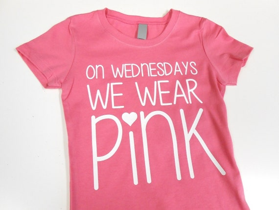 Wear Pink On Wednesday Shirt | Is Shirt