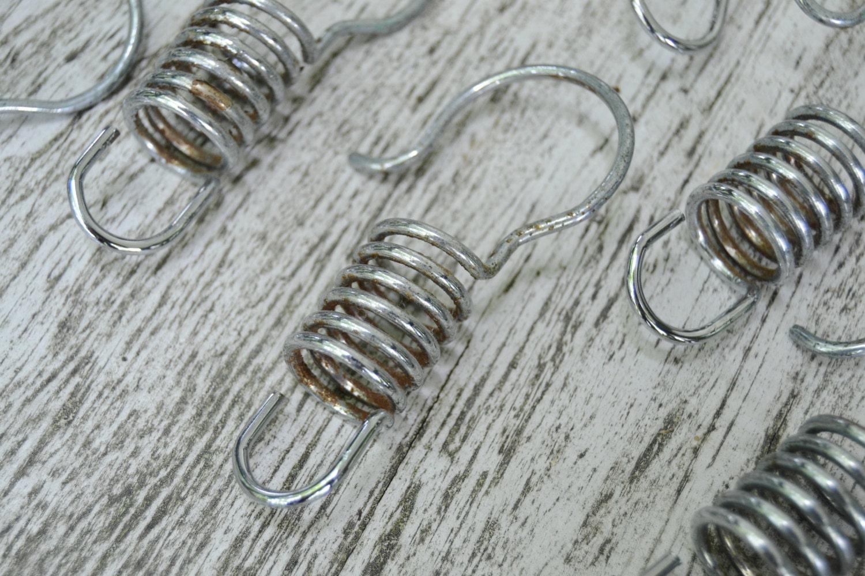 metal shower curtain rings industrial look metal shower. Black Bedroom Furniture Sets. Home Design Ideas
