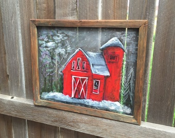 Barn,Rustic Barn, old window screen,outdoor art