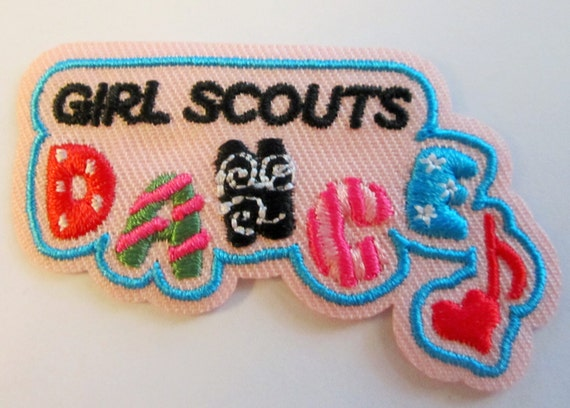 Girl scout dance fun patches